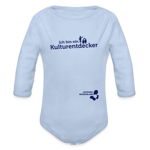 Baby Langarm-Body Kulturentdecker - Baby Bio-Langarm-Body