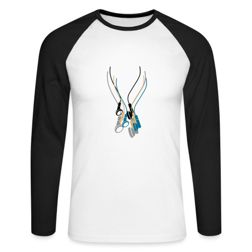 LATORS MUSIC - Men's Long Sleeve Baseball T-Shirt