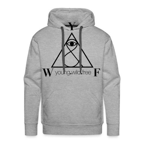 young wild free hoodie - Männer Premium Hoodie