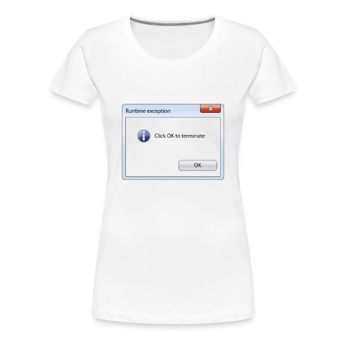 Click OK - T-shirt Premium Femme