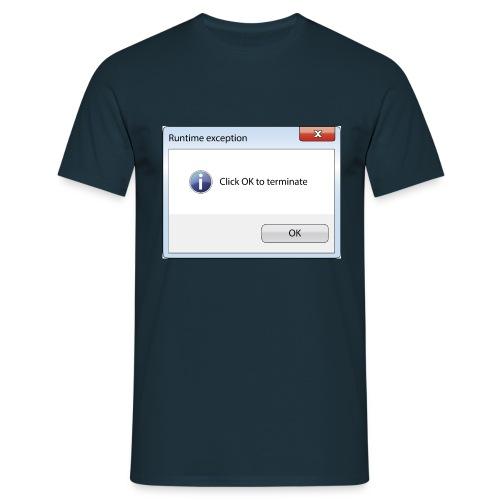 Click OK - T-shirt Homme