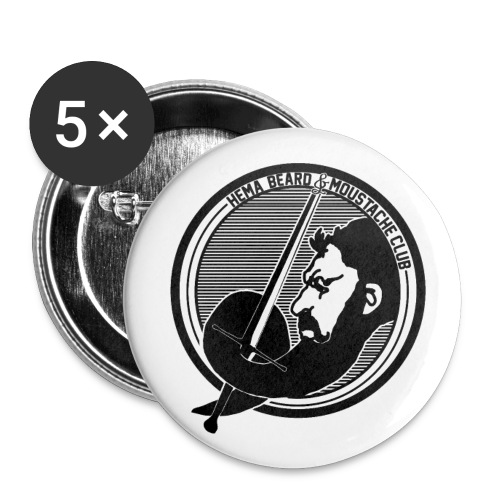 Badges HB&MC - Buttons medium 32 mm