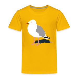 tier t-shirt möwe möwen sea gull seagull hafen beach harbour - Kinder Premium T-Shirt