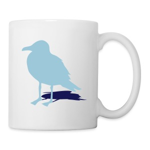 tier t-shirt möwe möwen sea gull seagull hafen beach harbour - Tasse