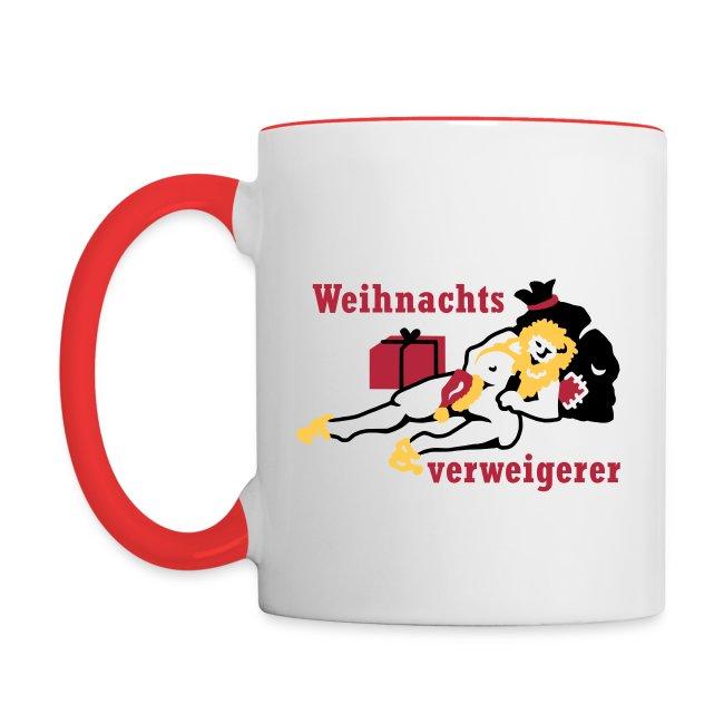 Comic Art and more Design | Kaffeepott- Anti-Weihnachten - Tasse ...