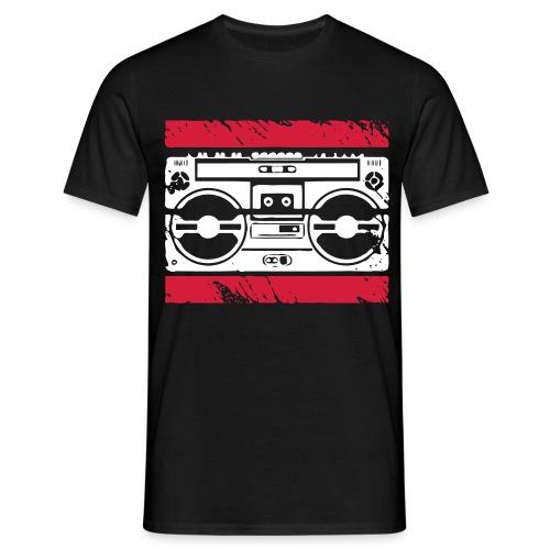 Ghettoblaster Shirt - Männer T-Shirt