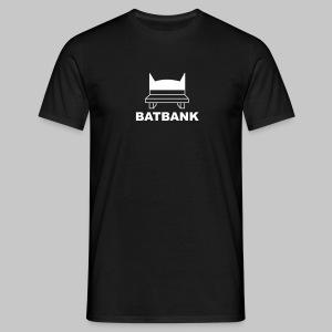 Batbank - Männer T-Shirt