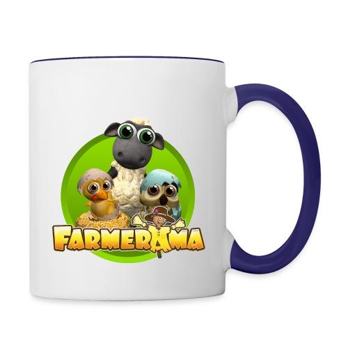 Farmerama Mug - Tasse zweifarbig