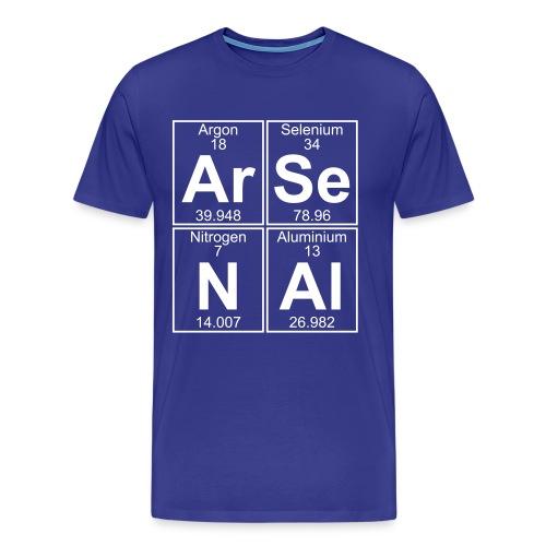 Ar-Se-N-Al () - Full - Men's Premium T-Shirt
