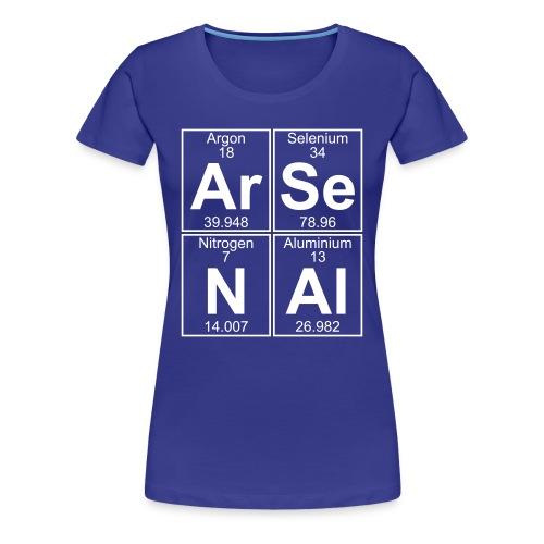 Ar-Se-N-Al () - Full - Women's Premium T-Shirt