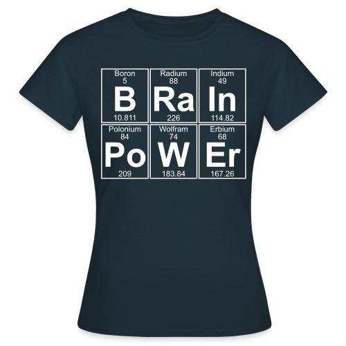 B-Ra-In-Po-W-Er (brainpower) - Full - Women's T-Shirt