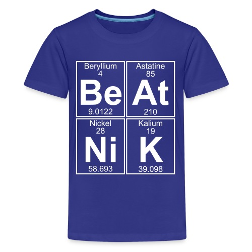 Be-At-Ni-K (beatnik) - Full - Teenage Premium T-Shirt