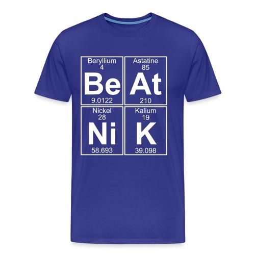 Be-At-Ni-K (beatnik) - Full - Men's Premium T-Shirt