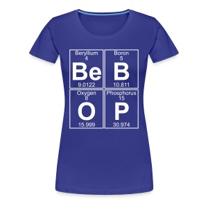 Be-B-O-P (bebop) - Full - Women's Premium T-Shirt