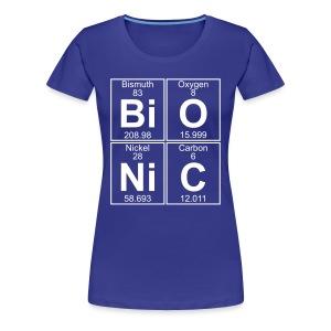 Bi-O-Ni-C (bionic) - Full - Women's Premium T-Shirt