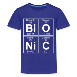 Bi-O-Ni-C (bionic) - Full - Teenage Premium T-Shirt