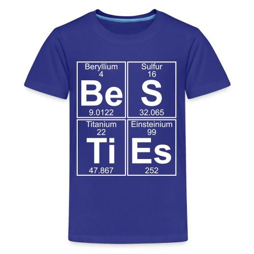 Be-S-Ti-Es (besties) - Full - Teenage Premium T-Shirt