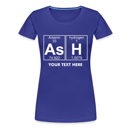 As-H (ash) - Full - Women's Premium T-Shirt