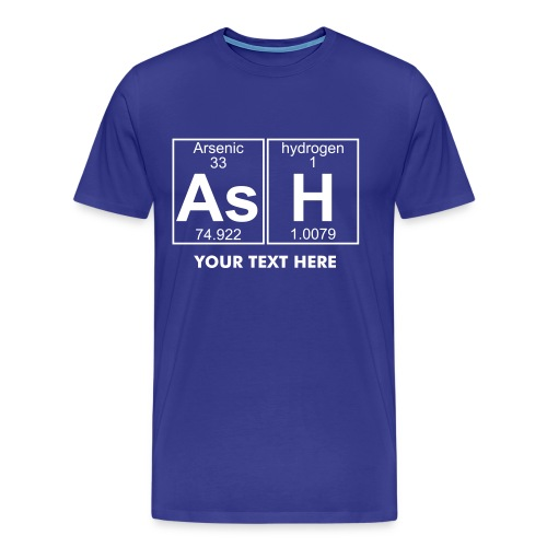 As-H (ash) - Full - Men's Premium T-Shirt
