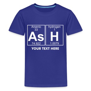 As-H (ash) - Full - Teenage Premium T-Shirt