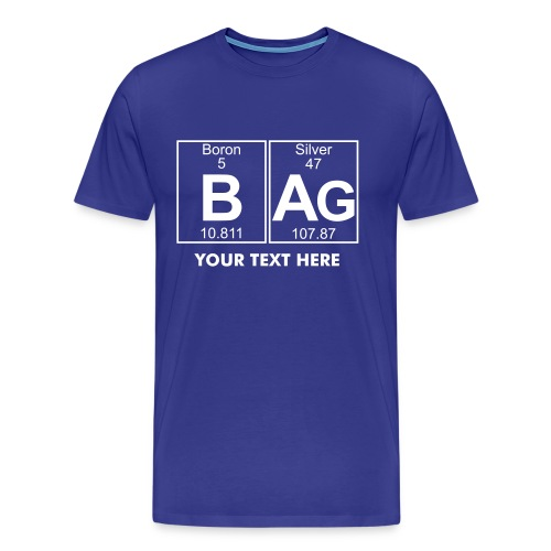 B-Ag (bag) - Full - Men's Premium T-Shirt