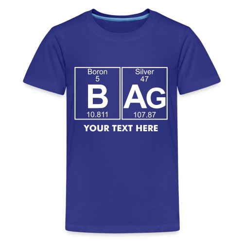 B-Ag (bag) - Full - Teenage Premium T-Shirt