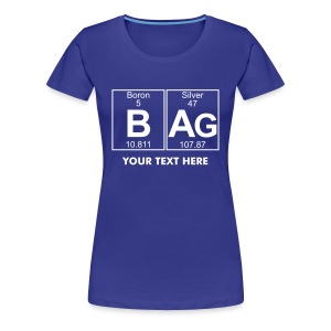 B-Ag (bag) - Full - Women's Premium T-Shirt