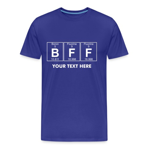 B-F-F (bff) - Full - Men's Premium T-Shirt