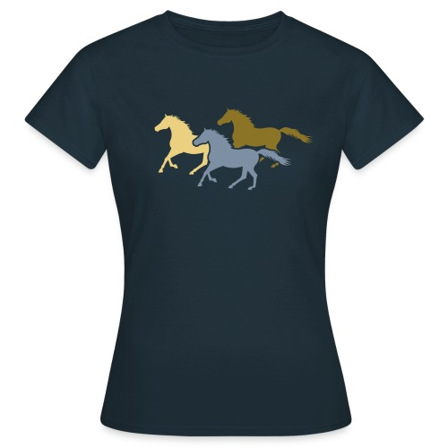 Galloping Horses T-Shirt - Women's T-Shirt