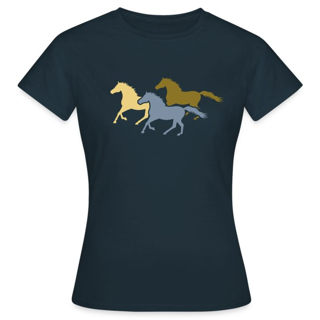 Galloping Horses T-Shirt