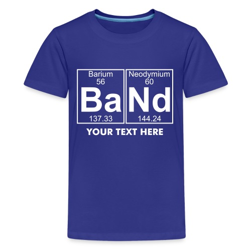 Ba-Nd (band) - Full - Teenage Premium T-Shirt