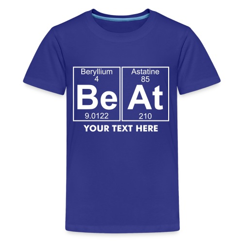 Be-At (beat) - Full - Teenage Premium T-Shirt