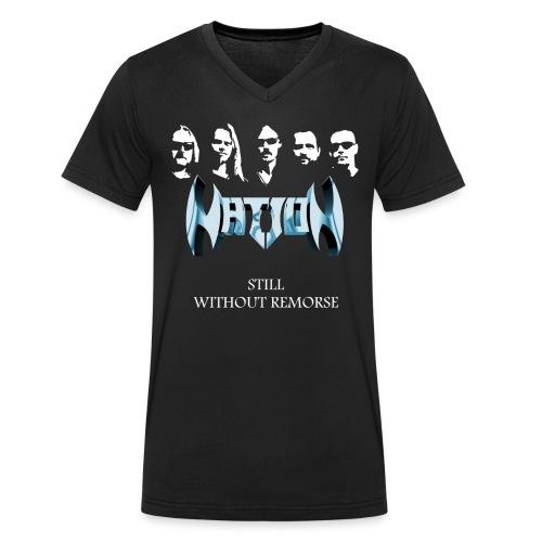 T-shirt, men, V-neck, in black only - Ekologisk T-shirt med V-ringning herr från Stanley & Stella
