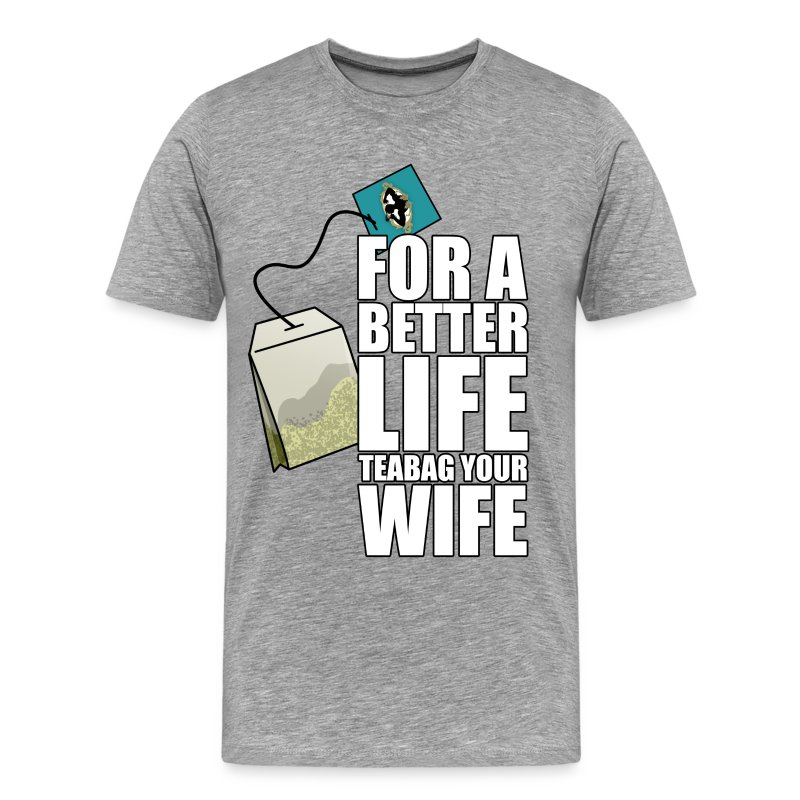 Bustina del Tè - Maglietta Premium da uomo