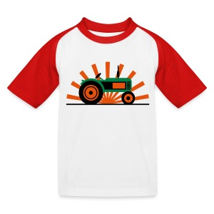 TRAKTOR T-shirts - Baseboll-T-shirt barn
