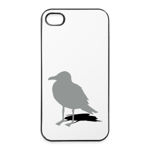 tier t-shirt möwe möwen sea gull seagull hafen beach harbour - iPhone 4/4s Hard Case