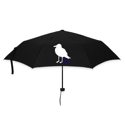 tier t-shirt möwe möwen sea gull seagull hafen beach harbour - Regenschirm (klein)