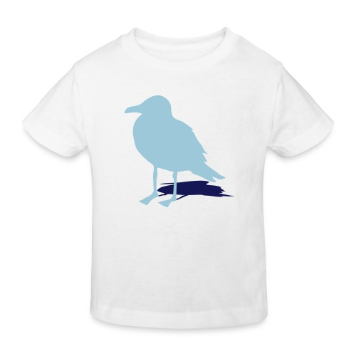 tier t-shirt möwe möwen sea gull seagull hafen beach harbour - Kinder Bio-T-Shirt