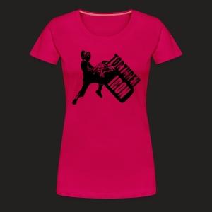 WOMAN TYRE FLIP 2 - Women's Premium T-Shirt