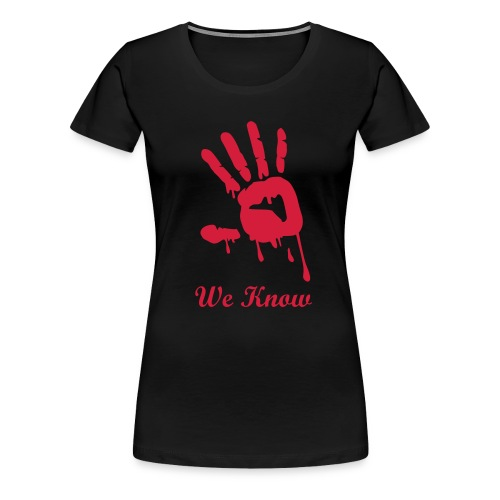 Dark Brotherhood - Vrouwen Premium T-shirt