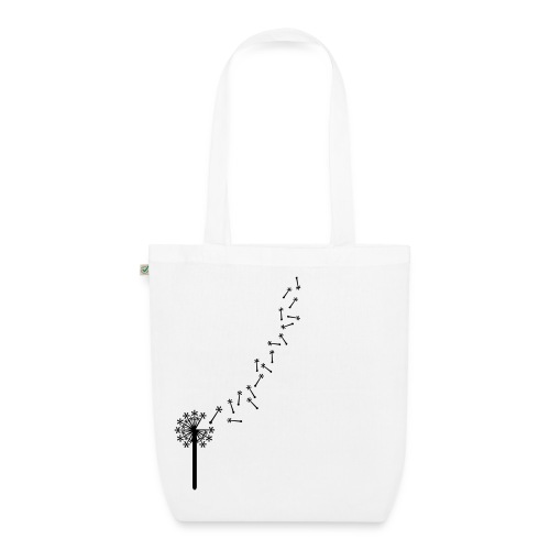 Go Dandelion go! - EarthPositive Tote Bag