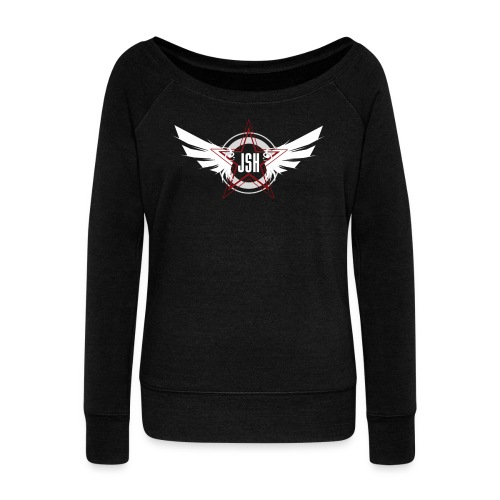 JSH Logo #10-w - Women's Boat Neck Long Sleeve Top
