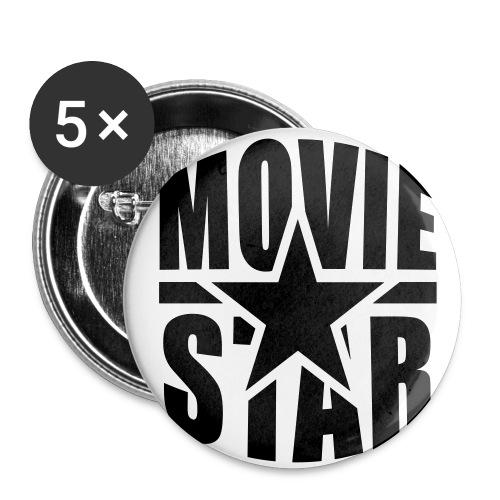 THE MOVIESTARS - Buttons klein 25 mm