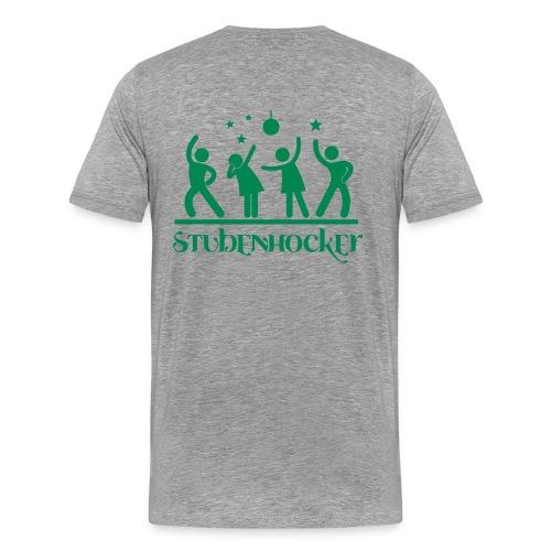 Männer T-Shirt Klassisch grau - Männer Premium T-Shirt