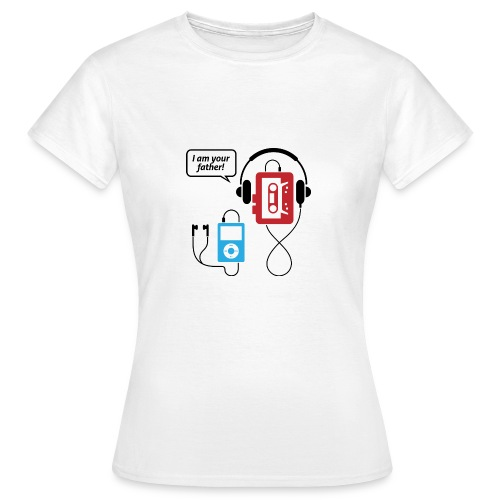 T-shirt Femme Dad - T-shirt Femme