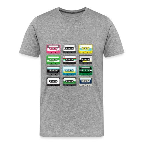 T-shirt Homme Cassete - T-shirt Premium Homme