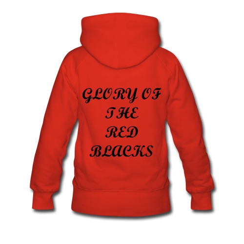 sweater Glory of the Red Blacks - Vrouwen Premium hoodie
