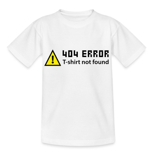 T-shirt Simple 404 - T-shirt Ado