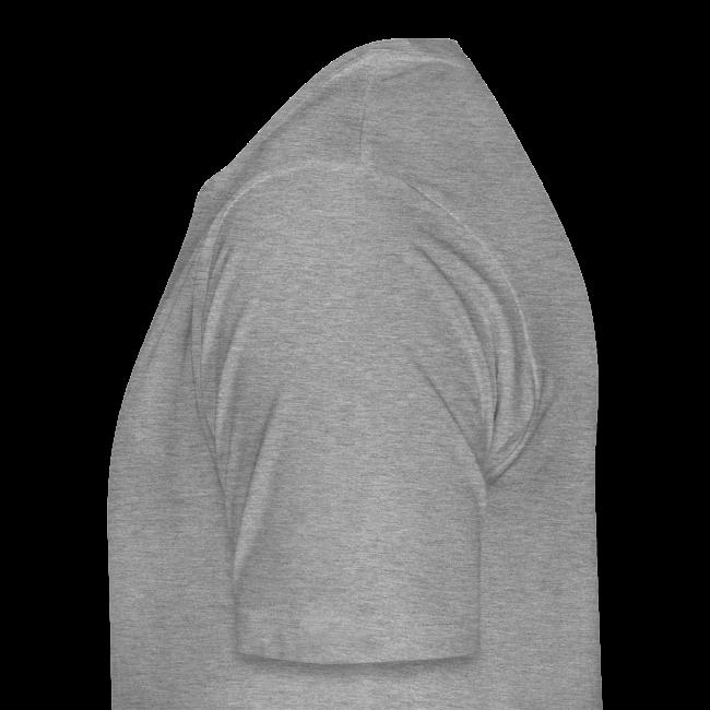 Old School Football Premium T-Shirt (m, grau/navy/rot)