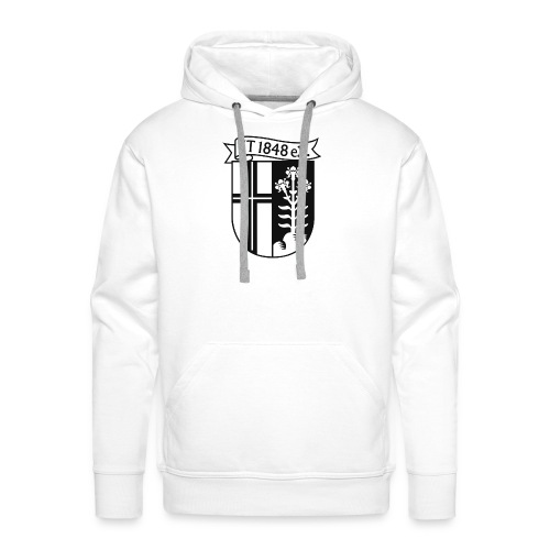 FT-Hoody Wappen sw  - Männer Premium Hoodie